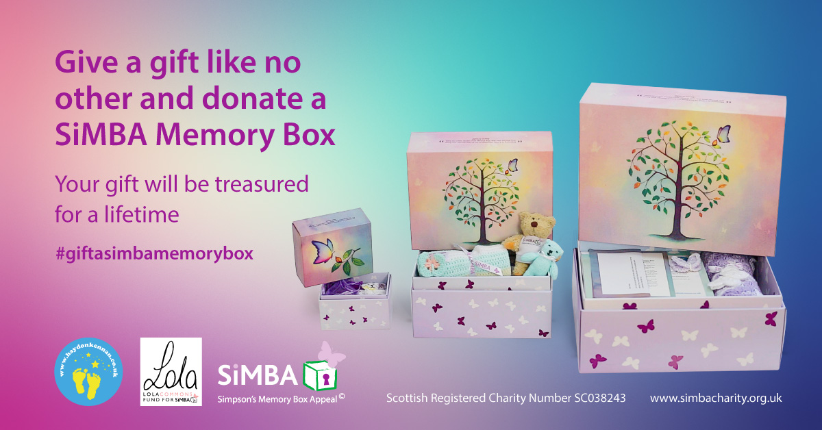 Donate   SiMBA Charity, Simpsons Memory Box Appeal